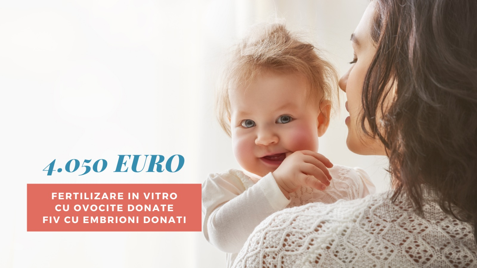 FIV cu ovocite donate 2021